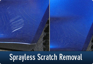 Sprayless Scratch Removal Service