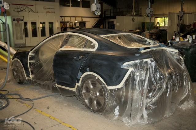 Jaguar XF-S Full Respray