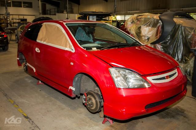 Honda Civic Type-R EP3 Red