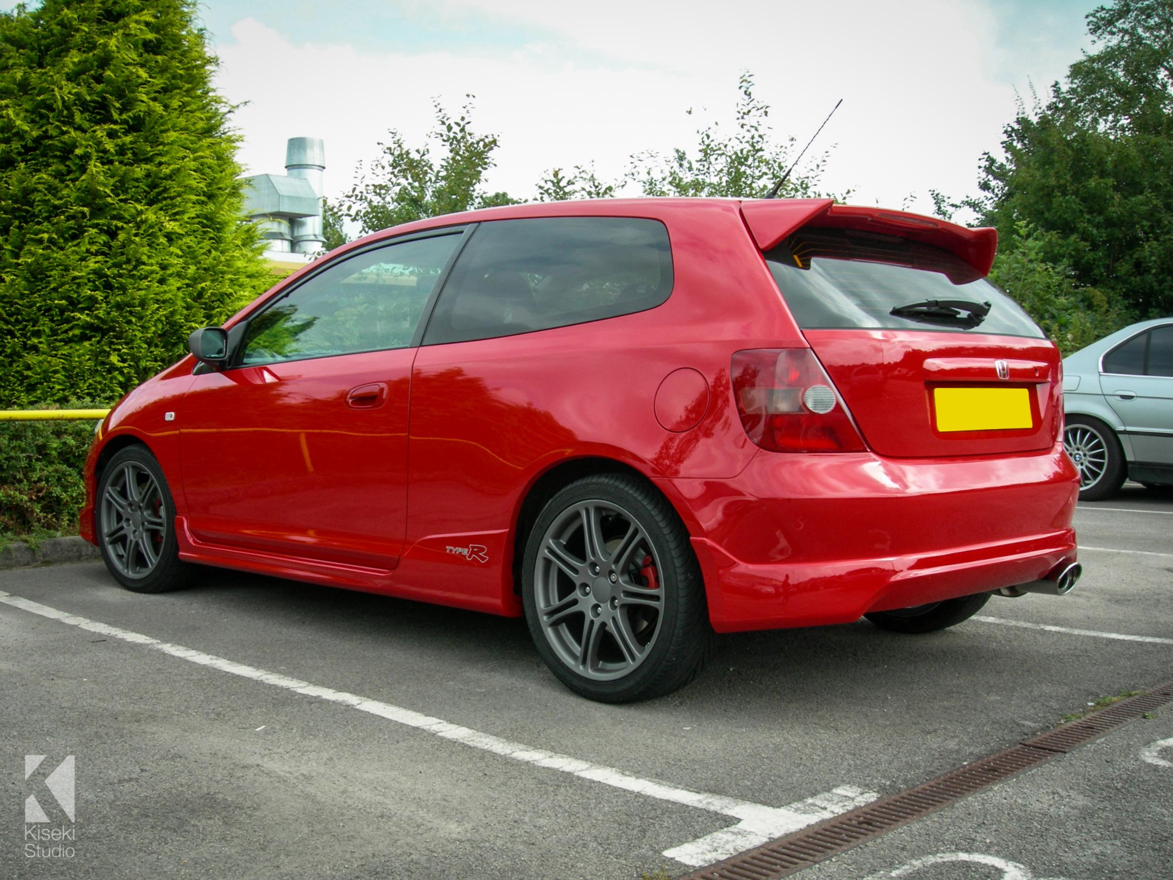 Honda Civic Type-R EP3 Red - KAG Automotive Care