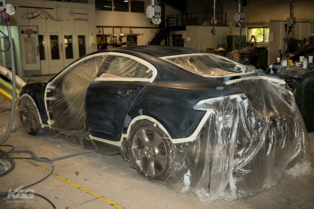 Jaguar XF-S Full Respray