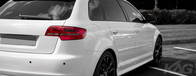 Audi S3 with Custom Paint and Colour Coding by KAG