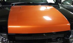 Range Rover Sport Custom Bonnet Stripe